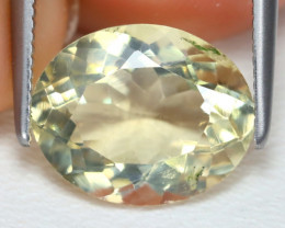 Bytownite 2.84Ct Oval Cut Natural Yellow Bytownite B4632