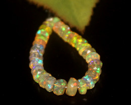 4.15 Crts Natural Ethiopian Welo Faceted Opal 6