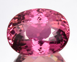 8.25 Cts Glorious Stunning Natural Hot Pink Tourmaline Oval Cut Ref VIDEO