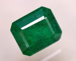 Emerald 2.95Ct Natural Zambia Green Emerald D0611/A38