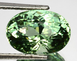 8.94 Cts Mind Blowing Natural Mint Green Tourmaline Oval Cut Ref VIDEO
