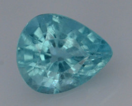 Top Color 1.45 Ct Natural Blue Apatite with Flouresecent