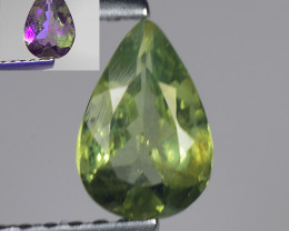 0.49 Ct Aig Cert Alexandrite Rare Color Change Gemstone