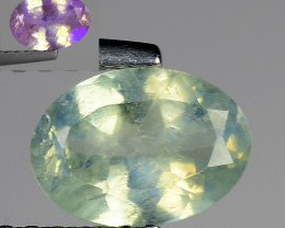 0.95 Ct Aig Cert Alexandrite Rare Color Change Gemstone