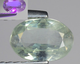 0.69 Ct Aig Cert Alexandrite Rare Color Change Gemstone