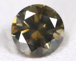 Gray Green Diamond 0.10Ct Natural Untreated Fancy Diamond AB4566
