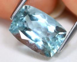 Aquamarine 2.34Ct Octagon Cut Natural Blue Color Aquamarine AB4711