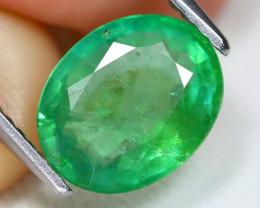 Zambian Emerald 2.46Ct Oval Cut Natural Green Color Emerald B4730