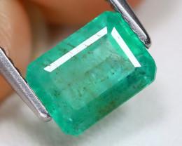 Zambian Emerald 1.72Ct Octagon Cut Natural Green Emerald AB4731