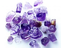 54.40 CT Natural - Unheated  Purple Scapolite Rough Lot