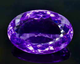 34.24 Crt Natural Amethyst Faceted Gemstone.( AB 51)