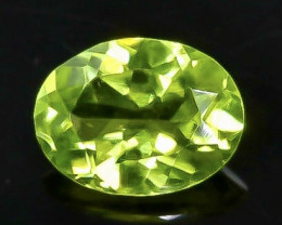 1.17 Crt Natural Peridot Faceted Gemstone.( AB 51)