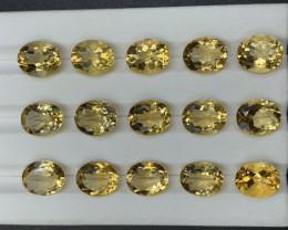 48.34 CT Citrine Gemstones parcel