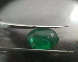 IGI Certified 5.34cts  Afghanistan Emerald , 100% Natural Gemstone