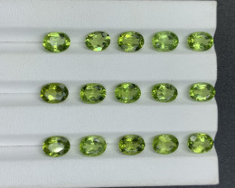 19.62 CT Peridot Gemstones parcel