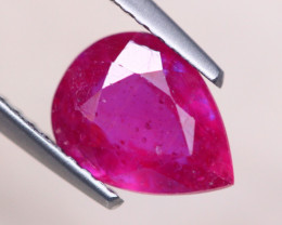 2.16ct Mozambique Ruby Pear Cut Lot A1170