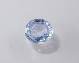 1.33ct unheated clean sapphire
