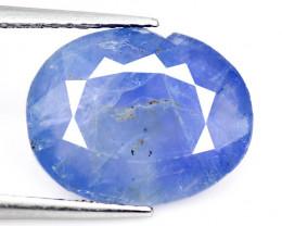 BURMA Sapphire 6.33 Cts  Rare Natural Fancy Blue Loose Gemstone