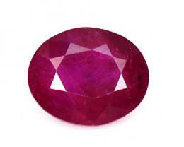 *No Reserve* 1.04 Cts Pinkish Red Natural Ruby Loose Gemstone