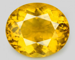 2.57 Cts Amazing Rare Golden Yellow Natural Beryl Loose Gemstone