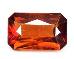 Hessonite Garnet 6.40 Cts Natural Orange Red Color Gemstone