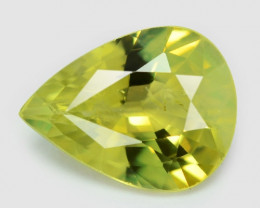 Lime Green Chrysoberyl 1.01 Cts Very Rare Color Natural Gemstone