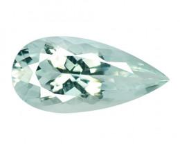 4.08 Cts Un Heated Sky Blue Natural Aquamarine Loose Gemstone