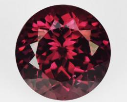 2.09 Cts Unheated Natural Cherry Pinkish Red Rhodolite Garnet Gemstone