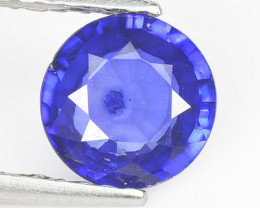 0.89 Cts Amazing Rare Natural Fancy Blue Ceylon Sapphire Loose Gemstone