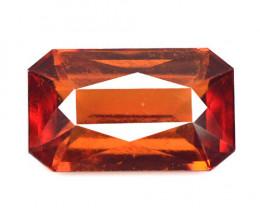 *No Reserve*Hessonite Garnet 7.19 Cts Orange Red Color Natural Gemstone