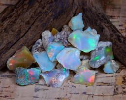 32.07Ct Bright Color Natural Ethiopian Welo Opal Rough B4825