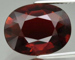 6.70 Ct. Natural Unheated Brownish Orange Tourmaline, Mozambique