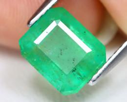 Zambian Emerald 2.14Ct Octagon Cut Natural Green Color Emerald B4945
