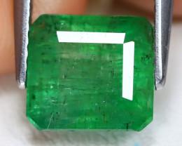 Zambian Emerald 2.88Ct Octagon Cut Natural Green Color Emerald B4948
