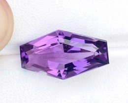 16.80 Ct Natural Purple Transparent Amethyst Gemstone