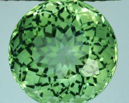 ~CUSTOM CUT~ 5.30 Cts Natural Prasiolite / Amethyst Fancy Cut Brazil