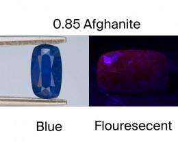 Afghanistan Afghanite 0.85 Ct Natural Fluorescent