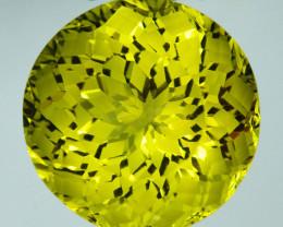 ~CUSTOM CUT~ 11.40 Cts Huge Natural Beautiful Lemon Quartz Fancy Brazil