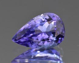 Natural Tanzanite 2.44 Cts Top Grade  Faceted Gemstone