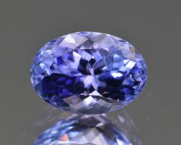 Natural Tanzanite 2.81 Cts Top Grade  Faceted Gemstone