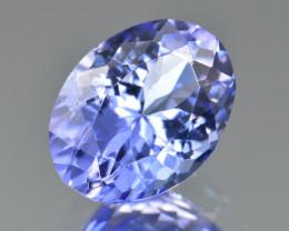 Natural Tanzanite 2.84 Cts Top Grade  Faceted Gemstone
