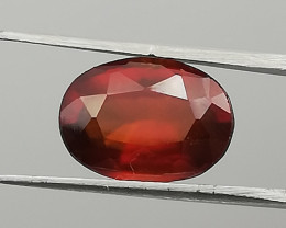 Hessonite, 3.92ct, very clear and awesome colour, from Africa!