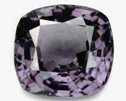 2.41 Cts Un Heated Very Rare Purple Pink Color Natural Spinel Gemstone