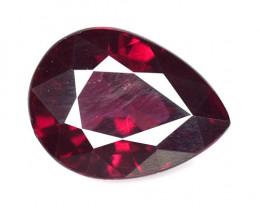 8.88 Cts Unheated Natural Cherry Pinkish Red Rhodolite Garnet Gemstone