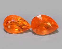 4.70 CTS MARVELOUS RARE NATURAL TOP FANTA-SPESSARTITE DAZZLING!!
