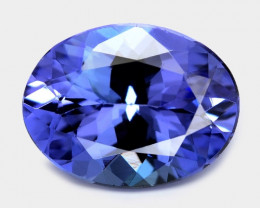 1.27 Cts  Amazing rare AAA Violet Blue Color Natural Tanzanite Gemstone