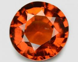 3.70 Cts Fancy Orange Red Color Natural Hessonite Garnet Gemstone