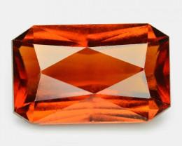 7.79 Cts Fancy Orange Red Color Natural Hessonite Garnet Gemstone