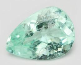Paraiba Tourmaline 0.84 Cts Natural Blue Green Loose Gemstone