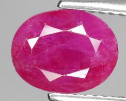 2.75 Cts Pinkish Red Natural Ruby BURMA  Loose Gemstone